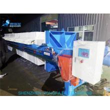 Prensa de filtro de presión de placa portátil de prensa hidráulica