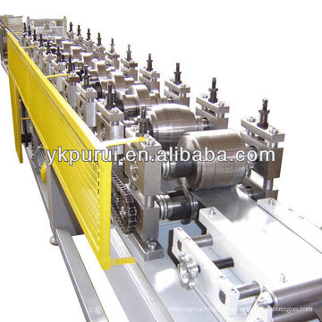 Usado cz purlin rollo de la máquina formadora / gutter máquinas portátiles / equipos de construcción