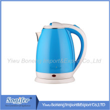 1.8 L Colourful Electric Kettle Hotel Water Kettle Stainless Steel Kettle Sf-2007 (Blue)