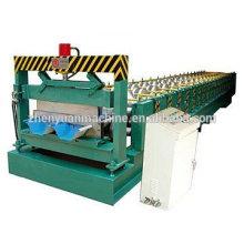 Junta automática de cor escondida telha de aço / folha de cobertura rolo formando máquina