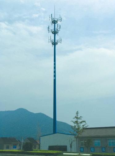 Painted Telecommunication Tower