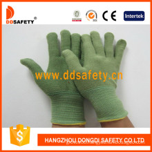 Green Bamboo Fiber with Latex Gloves-Dnl315