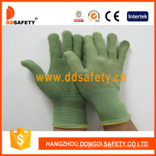 Green Bamboo Fiber with Latex Gloves Dnl315