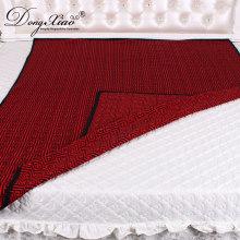 Precio barato súper suave edredón de moda manta