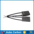 Cepillo de carbón eléctrico para el motor de corriente continua
