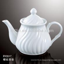 Pote de té, pote de té de porcelana, pote de té de cerámica