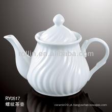 Pote de chá, pote de chá de porcelana, pote de chá de cerâmica