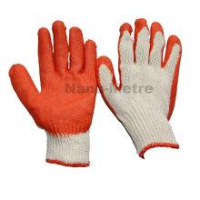 NMSAFETY 10 датчиков дешевые перчатки безопасности латекса производство перчаток в Китае