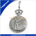 Relief Pattern Quartz Watch Pocket Watch