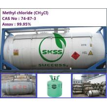Buen precio ch3cl, el producto se empaqueta en cilindro o ISO-TANK, 99,9% de pureza