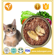 Fabricante venta atún sabor al por mayor comida enlatada para gatos