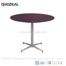 Le plus bas prix moderne loft bar table avec plateau en MDF pour meubles de restaurant