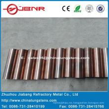 Wolfram W70cu30 de electrodo de cobre EDM con ISO9001 de Zhuzhou Jiabang