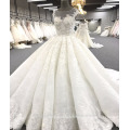 Alibaba haute qualité robe de bal robe de mariée de luxe WT271 Ivoire