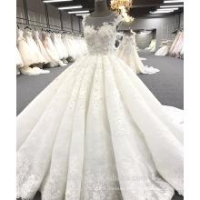 Alibaba vestido de novia de alta calidad vestido de novia de lujo WT271 Marfil