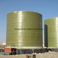 Réservoirs de stockage verticaux ou horizontaux FRP pour produits chimiques et industrie