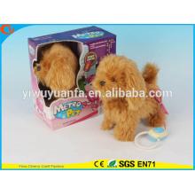 Игрушки Горячий Продавать Детей Красивыми Электрический Пропустить Плюшевая Коричневая Собака
