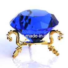 Hecho a mano K9 Crystal Diamond Craft para regalo de boda