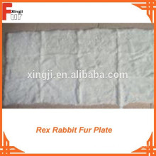 Top Quality Rex Rabbit Fur Plate