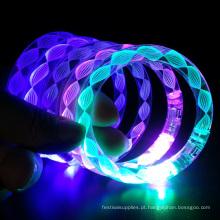 Festa de natal sulpply eletrônico led flash pulseira