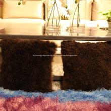 Cojín de cojines de piel de cordero fabricado en China