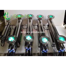 Blau reinigende lichtwasserbehandlung sterilisation von wasser