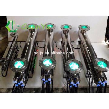 Purificação de água azul tratamento esterilização da água