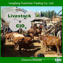 Niedriger Preis Chlordioxid Fungizid für Viehbestand Desinfektion