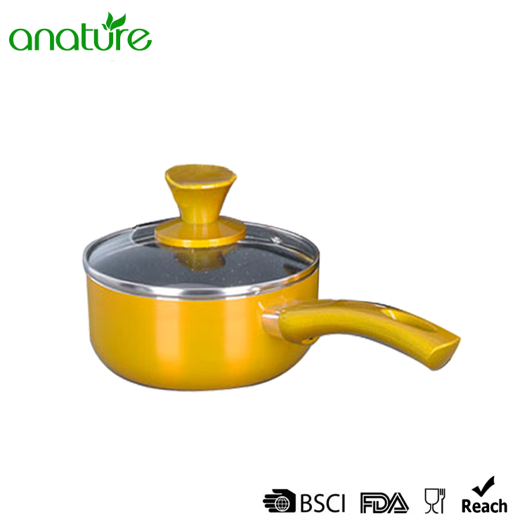Pressed Marble Non Stick Interior Cookware Set