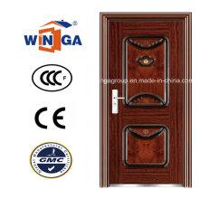 Puerta de acero de la seguridad del metal del hierro de la alta calidad (WS-111)