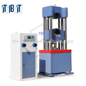Machine d'essai de compression hydraulique de cylindre hydraulique de T-BOTA