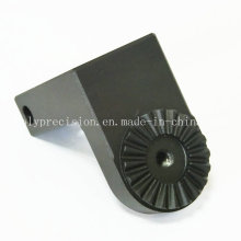 Custom Machining Aluminum Fabrication Mechanical Parts with Black Anodizing