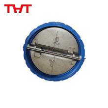 tipos de válvula de retención de titanio de placa doble de tipo oblea a presión de agua