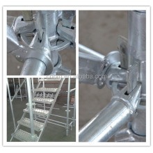 Ringlock Scaffolding system for Civil Buildings Q235 Material