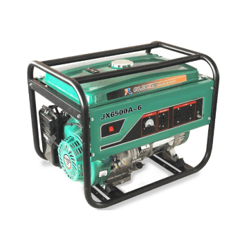 Jx6500A-6 5kw High Quality Gasoline Generator with a. C Single Phase, 220V