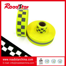 Durable warning reflector fabric