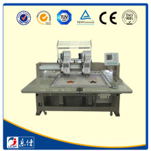 Small sampling embroidery machine with single sequin device