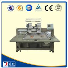 Máquina de bordar de amostragem pequena com dispositivo de sequin único
