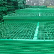 Barato plástico revestido Alambre de acero inoxidable soldados paneles de ganado de malla