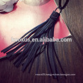 Fashion necklace fashion jewelry Leather tassels necklace