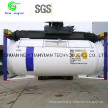 5000m3 Capacidad Tanque Líquido Criogénico Tanque LNG / Lar / Lin