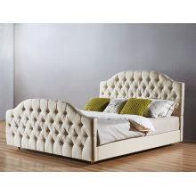 Alta calidad tela del dormitorio, cama Simple (A22)