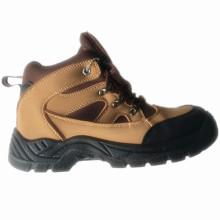 Upper PU Nubuck Leather Sole PU Work Safety Shoe