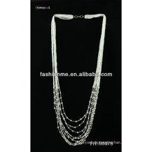Multi-Strang Schicht Halskette