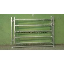 Puerta galvanizada para paneles de acero para caballos y ganado