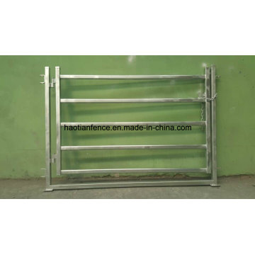 Galvanized Heavy Duty Horse / Cattle Steel Panel Gate