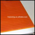Résine de polycarbonate nouveau matériau de construction feuille de polycarbonate à double paroi pour toitures auvent de lucarne