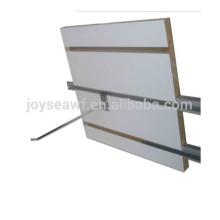 T-ranurado mdf + aluminio