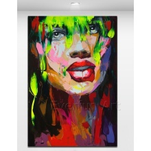 100% Handmade Cheap Painting Pop Art Painting From China (KVP-129)