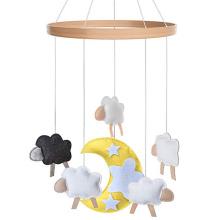 Felt nursery baby crib mobile gift